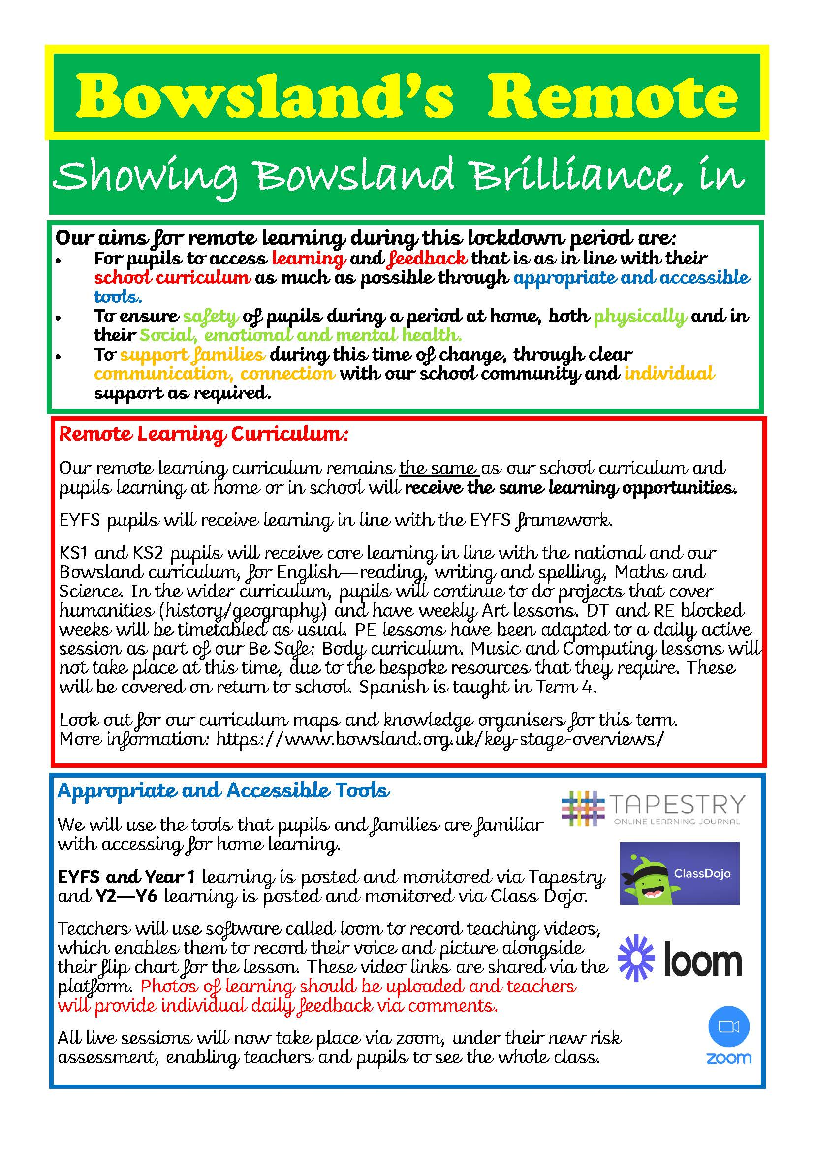 Remote Learning Offer 1